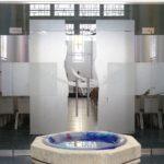 Glasgestaltung Kath. Kirche Rhaunen 2005, Ätzmattierung Und Taufschale 10 Fenster Zusammenarbeit Mit Fa. Derix/ Taunusstein