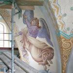 Rekonstruktion Engelmalerei St.Pankratius Mainz 2009