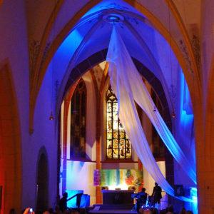 Ev. Kirche Ingelheim Ausstellung 2015