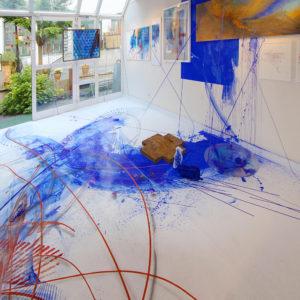 Ausstellung Mainzer Kunst, Galerie Rolf Weber- Schmidt 2014, Bilder Und Installation