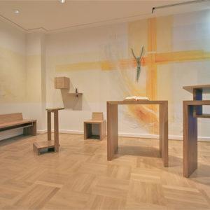 KH Worms Liturgische Objekte, Entwurf E. Münch, Ausführung Holzwerkstätte Andreas Gieß Mz. 2008