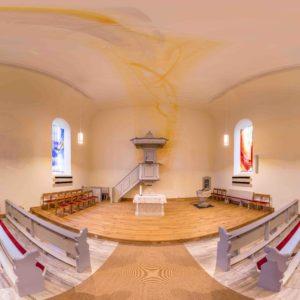 Ev. Kirche Ohlweiler Komplettgestaltung 2016 © Foto Sven Biernath