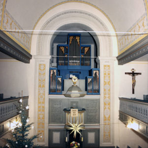 Gross-Bieberau Rekonstruktion Der Wandmalerei 1992