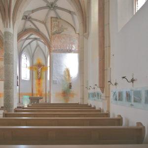 Heiligkreuz Chiemsee, Arbeiten In Denkmalgeschützen Gebäuden, Mineralfarben 2006
