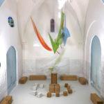 Modellbau 1:10 Luftraumobjekt, Glas-und Wandgestaltung 2018