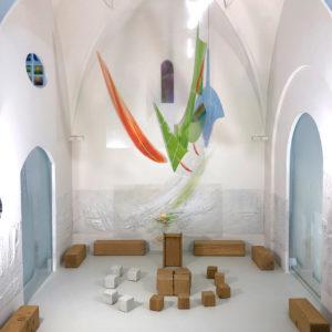 Modellbau Luftraumobjekt, Glas-und Wandgestaltung 2018