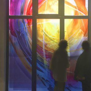 Trauerhalle_Hofheim_Marxheim_Wandmalerei_Objekte_Glas__Glasgestaltung_Glasstudios_Derix
