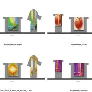 Gestaltung Antependien