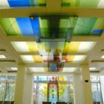 Seniorenheim Der Borromäerinnen Trier, Glasgestaltung Ausführung Fa. Binsfeld, 2010