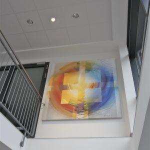 Kath. Kirchengemeinde Meppen, Leinwandbild 200 Cm X 200 Cm, 2011