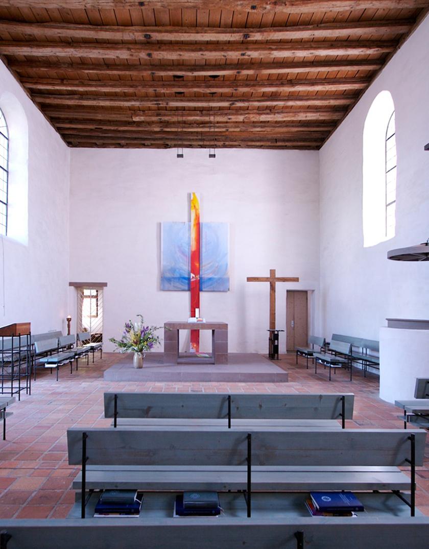 12_Wandgestaltung Klosterkirche Gnadenthal