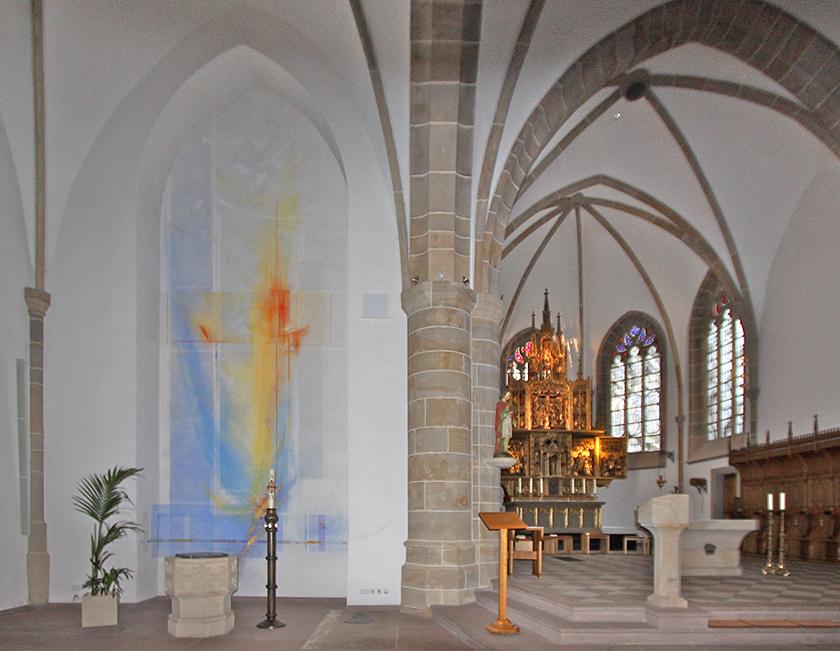 13_Kath. Kirche St. Vitus Meppen, Wandmalerei