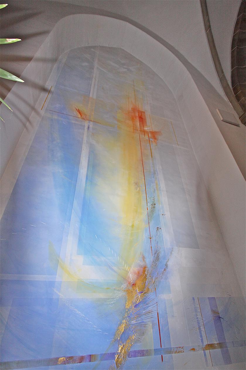 15_Kath. Kirche St. Vitus Meppen, Wandmalerei