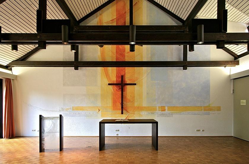 Altenzentrum Ingelheim, Wandmalerei, Prinzipalien