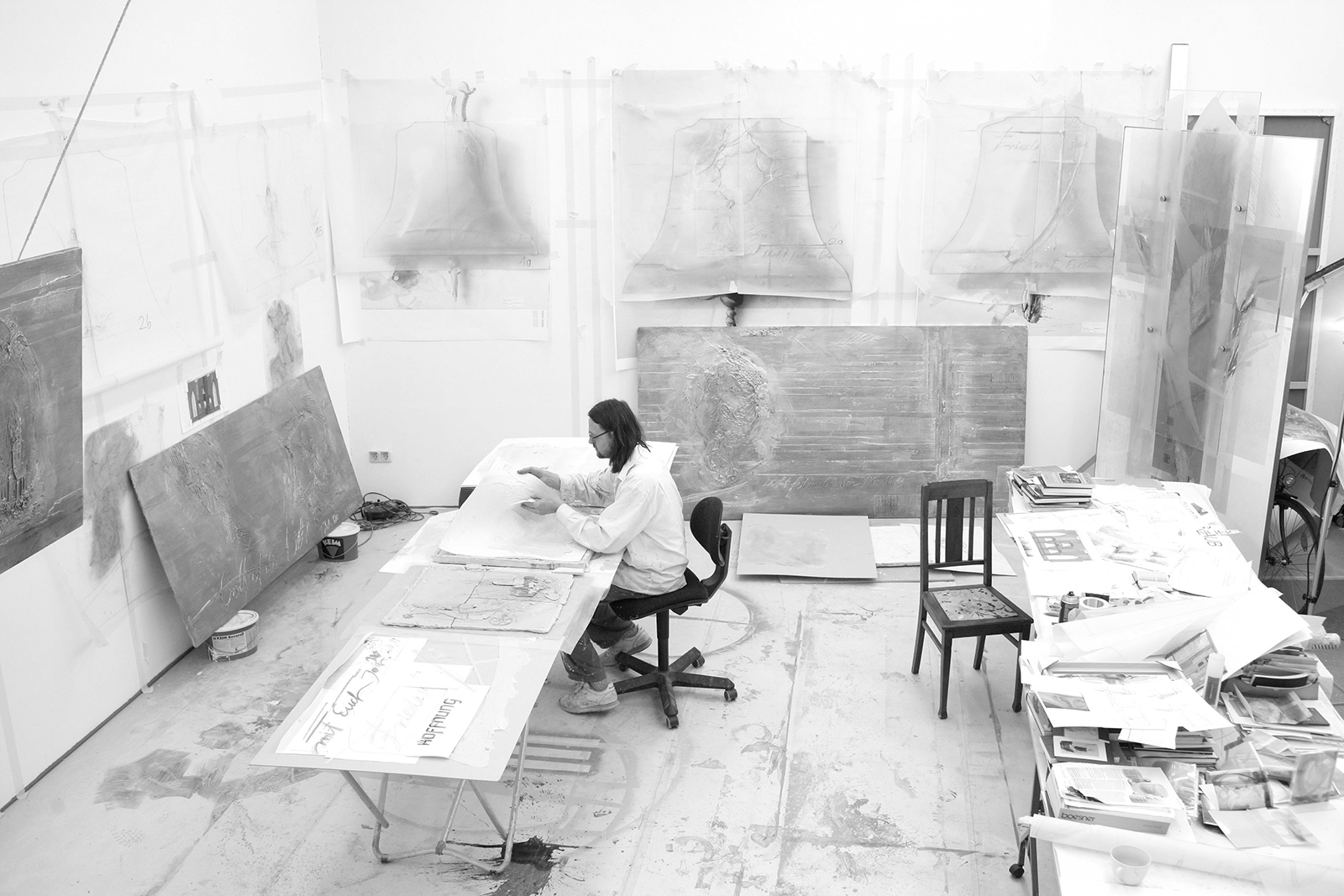 Atelier 2008, Entwurf Glockenzier für St. Stephan Mainz