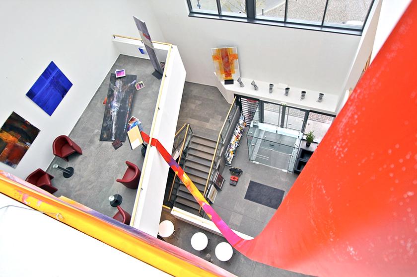 Ausstellung Haus am Dom, Frankfurt, Präesenz Galerie Gnadenthal, 2012