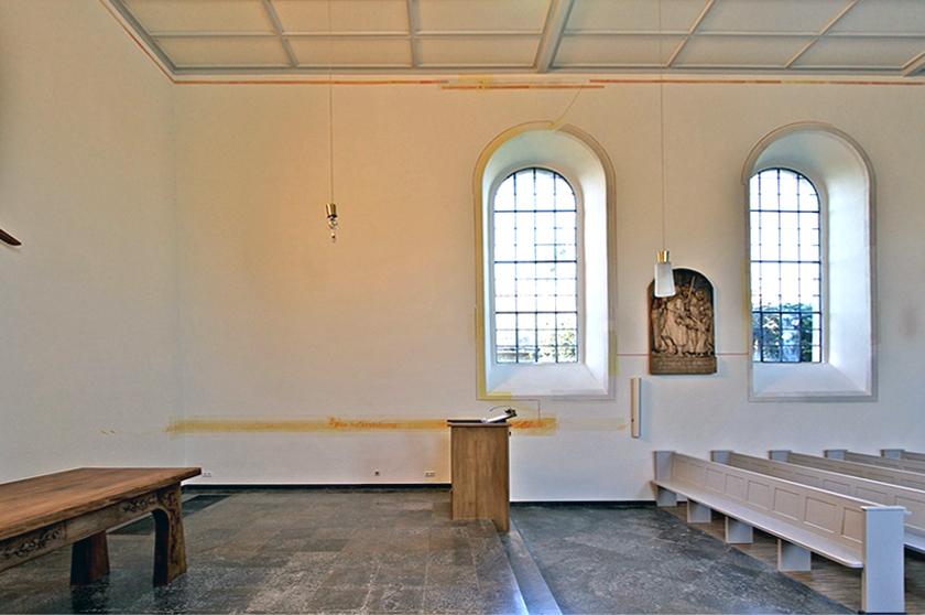 Ev. Kirche Hahnheim, Neugestaltung 2011
