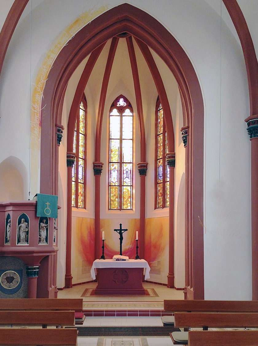 Ev. Kirche Merzig, Neugestaltung, 2014