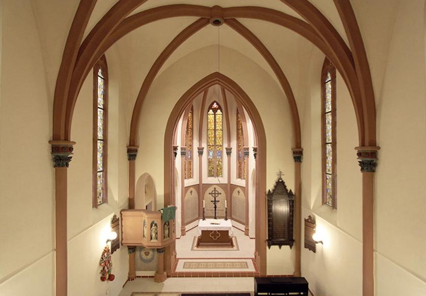 Ev. Kirche Merzig vorher