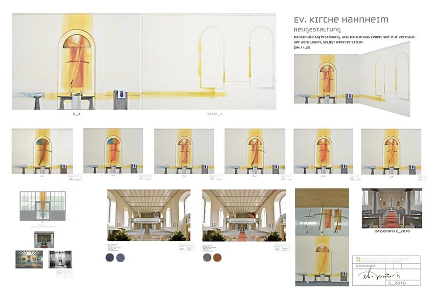 Ev. Kirche, Wettbewerbsbeitrag, 2011