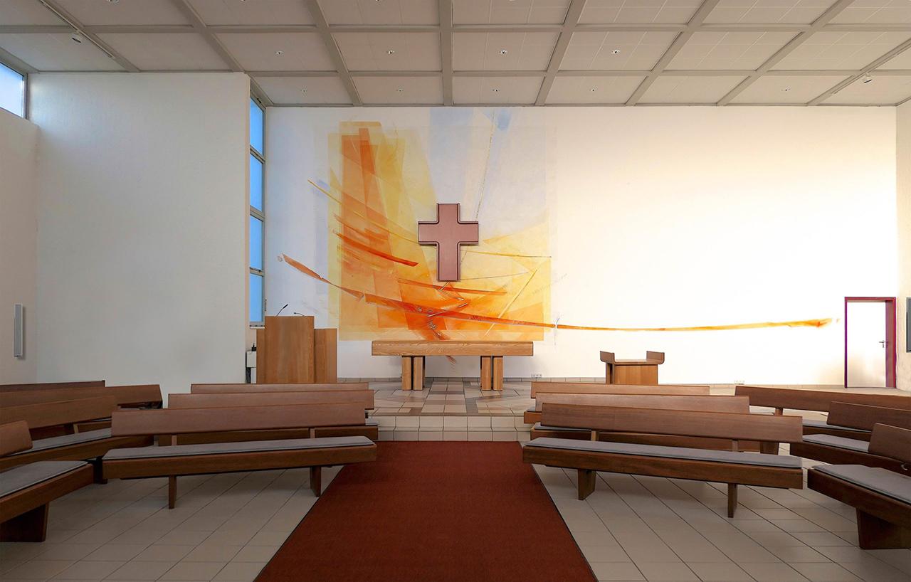 Ev. Kirchengemeinde Werne Atarwandgestaltung