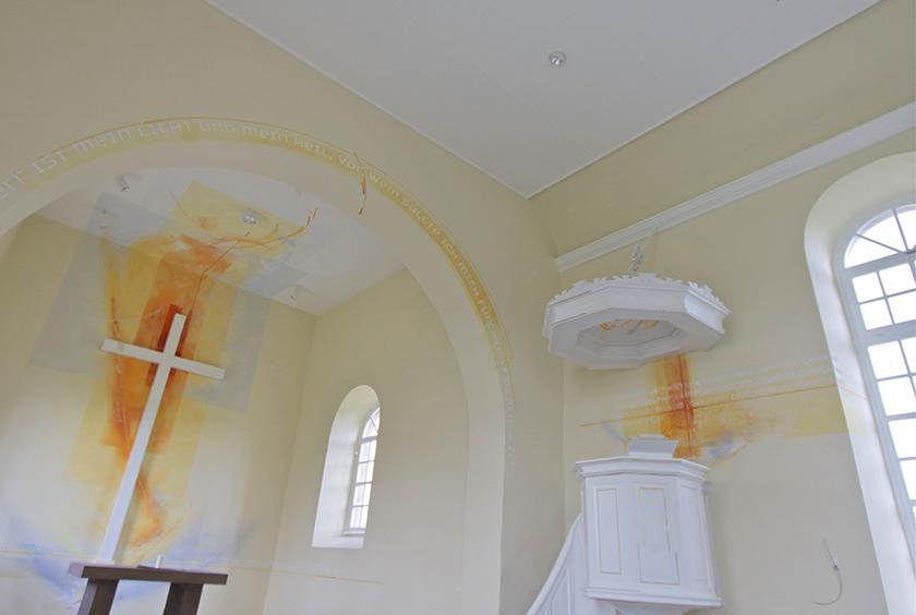 Evangelische Kirche Wallroth , Ausmalung