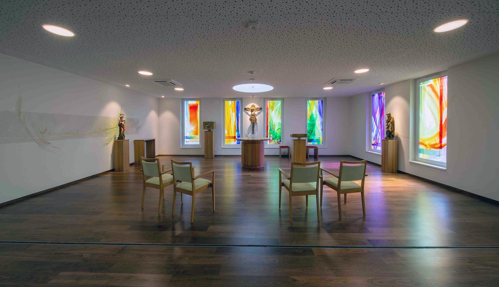 Haus Bethanien Komplettgestaltung Kapelle