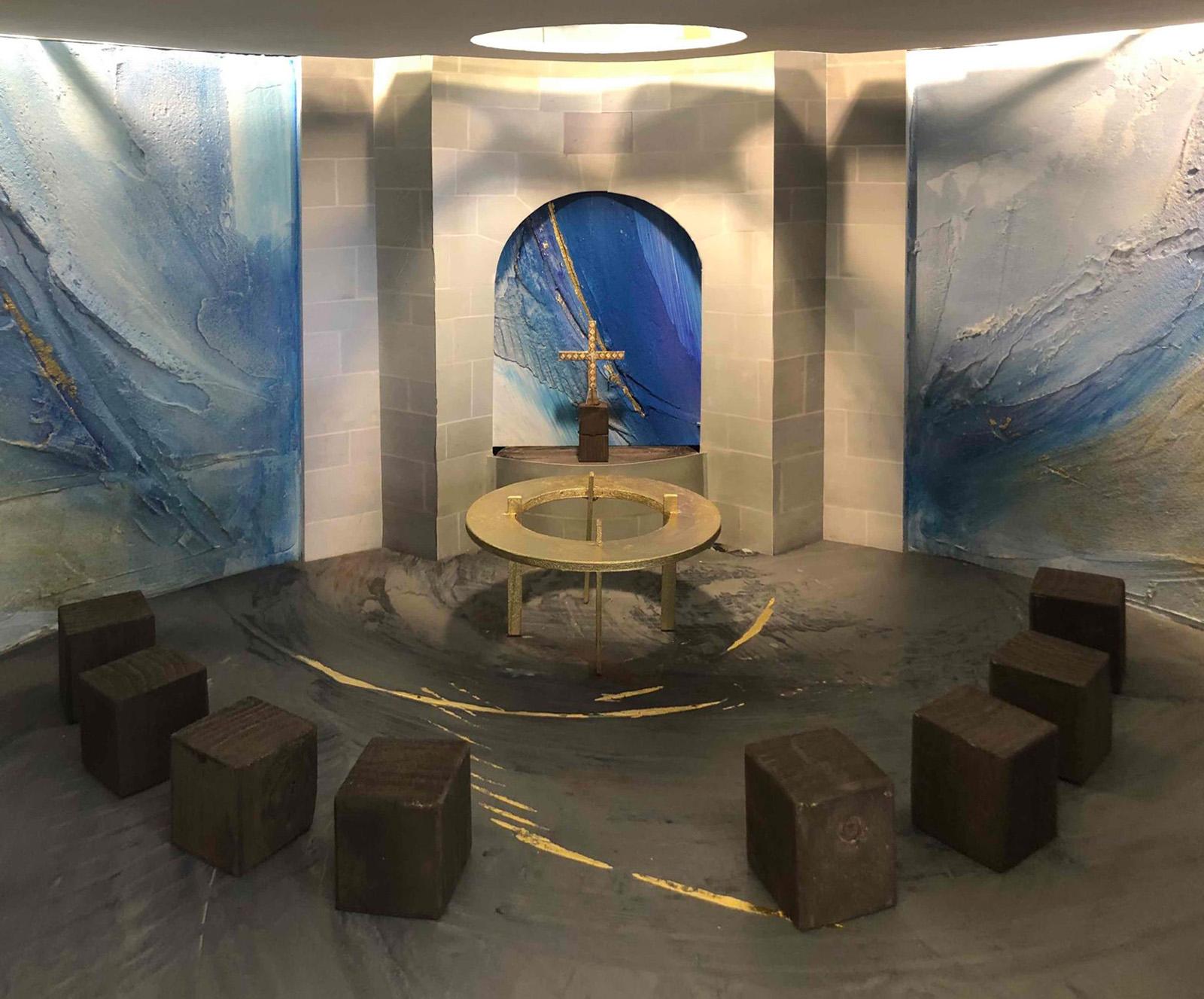 Entwurfsmodell 1:10 Raum der Stille
