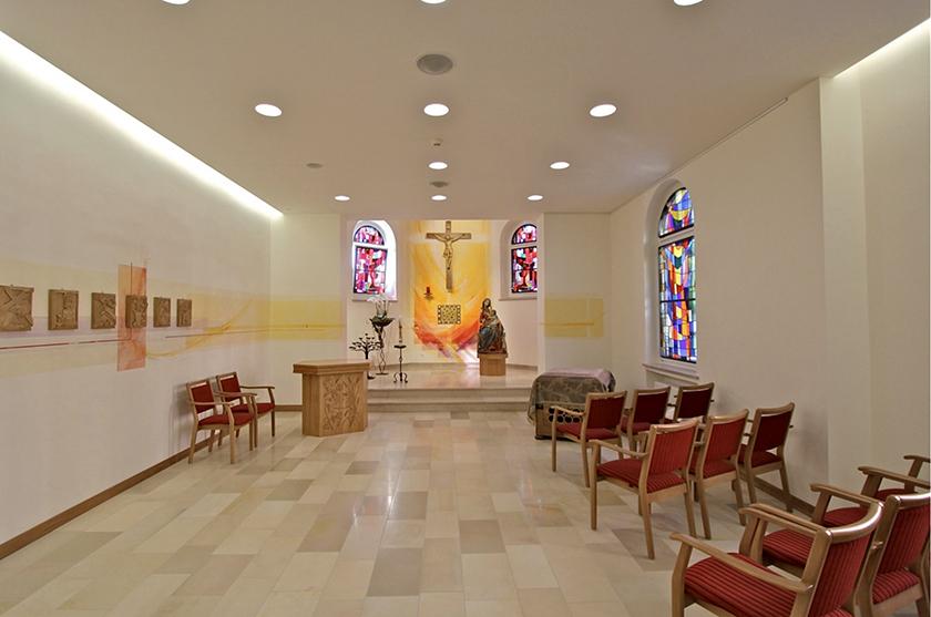 Kapelle Seniorenheim L-Petingen, Neugestaltung