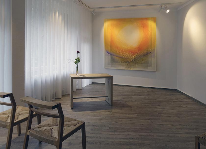 Krankenhaus Gehrden, Raum der Stille, 2m x 2m Leinwandbild