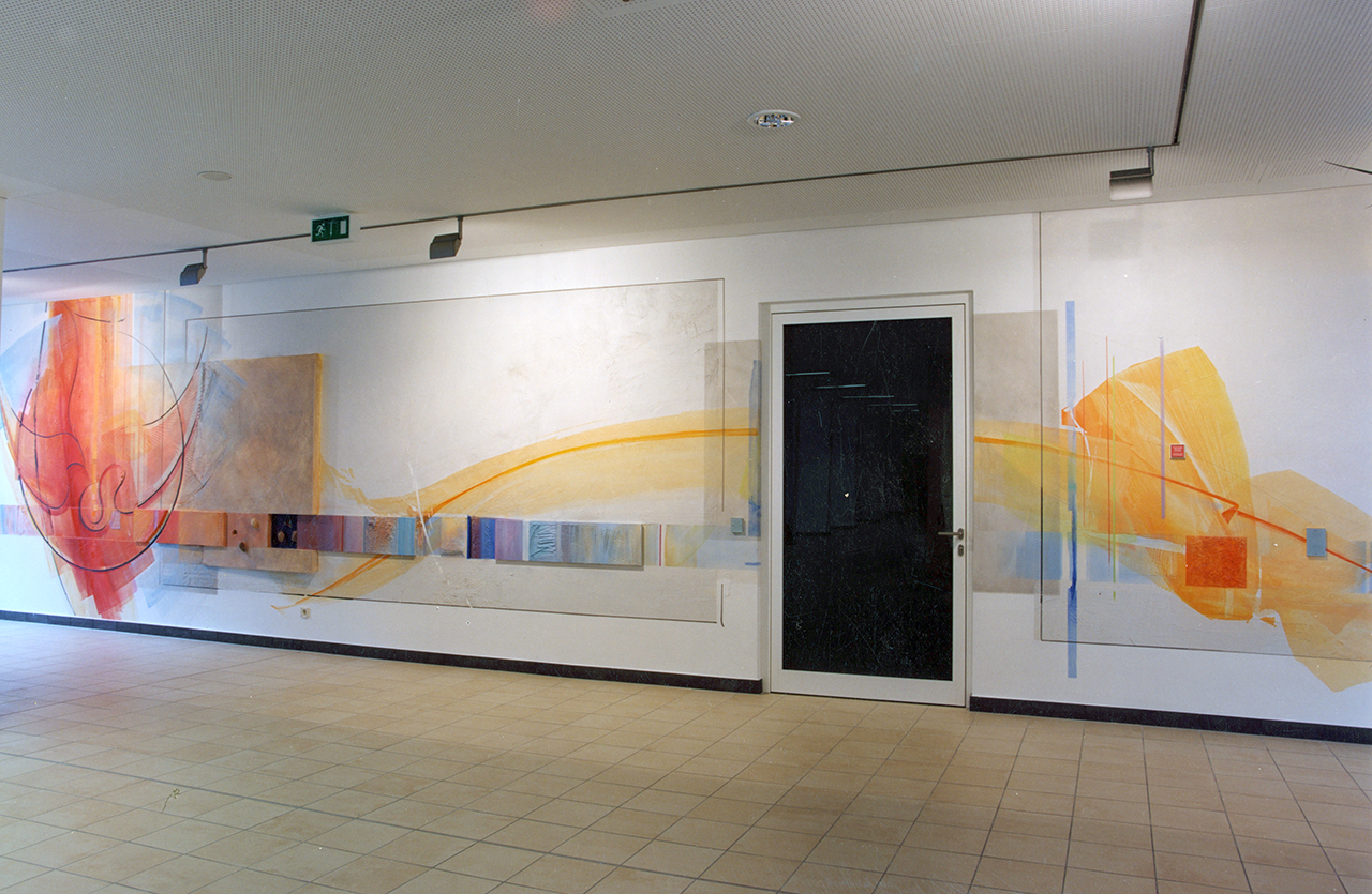 Heilig Geist Hospital, Bingen, Wandgestaltung 2004