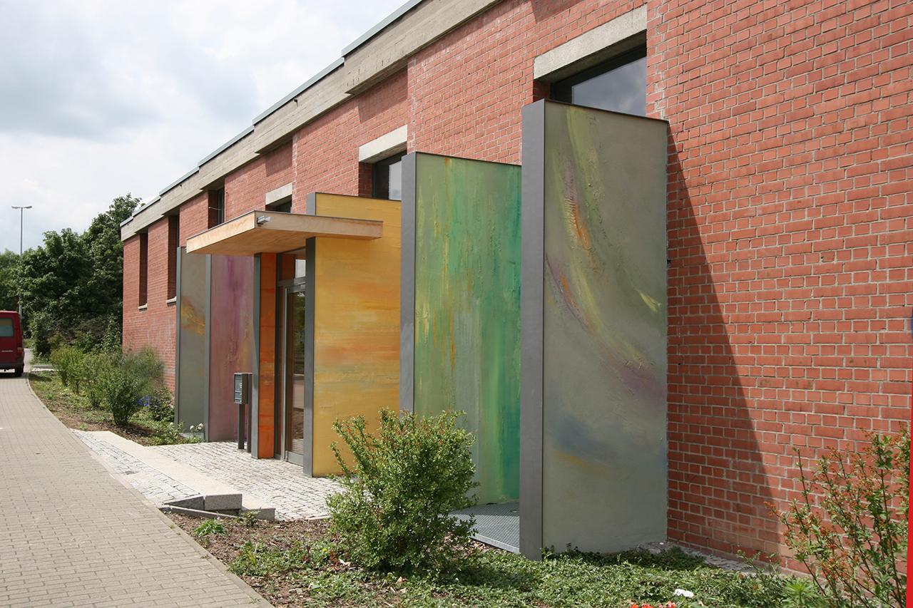 Evangelisches Zentrum Mainz, Farbgestaltung