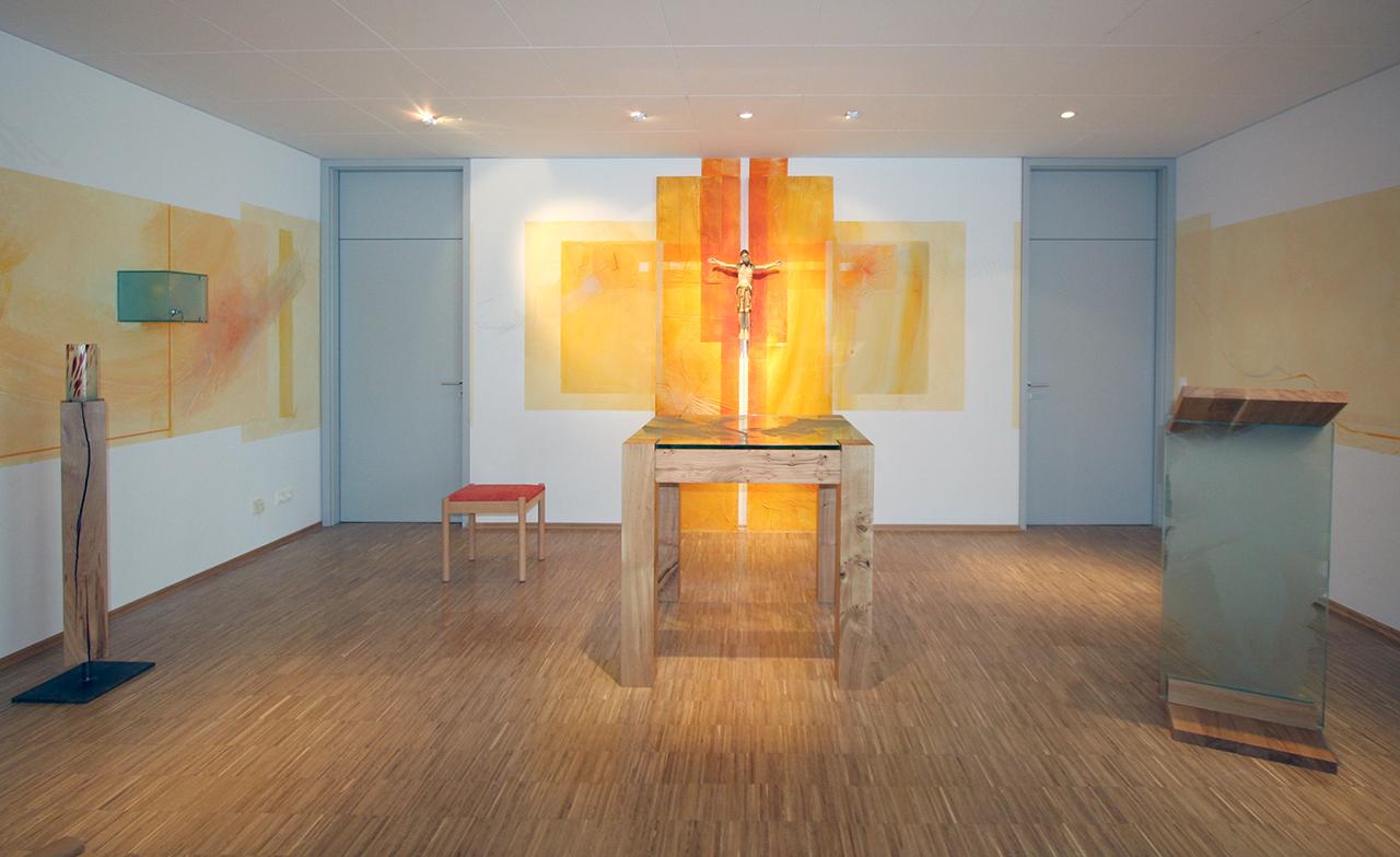 Kapelle Maria Rast Gernsheim, Komplettgestaltung 2005