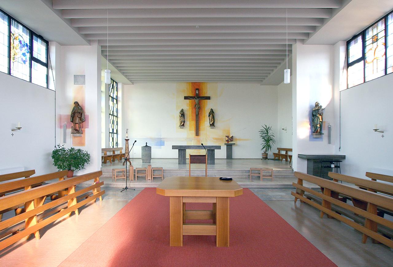 Kath. Kirche Wald-Erlenbach, Wandmalerei 2005