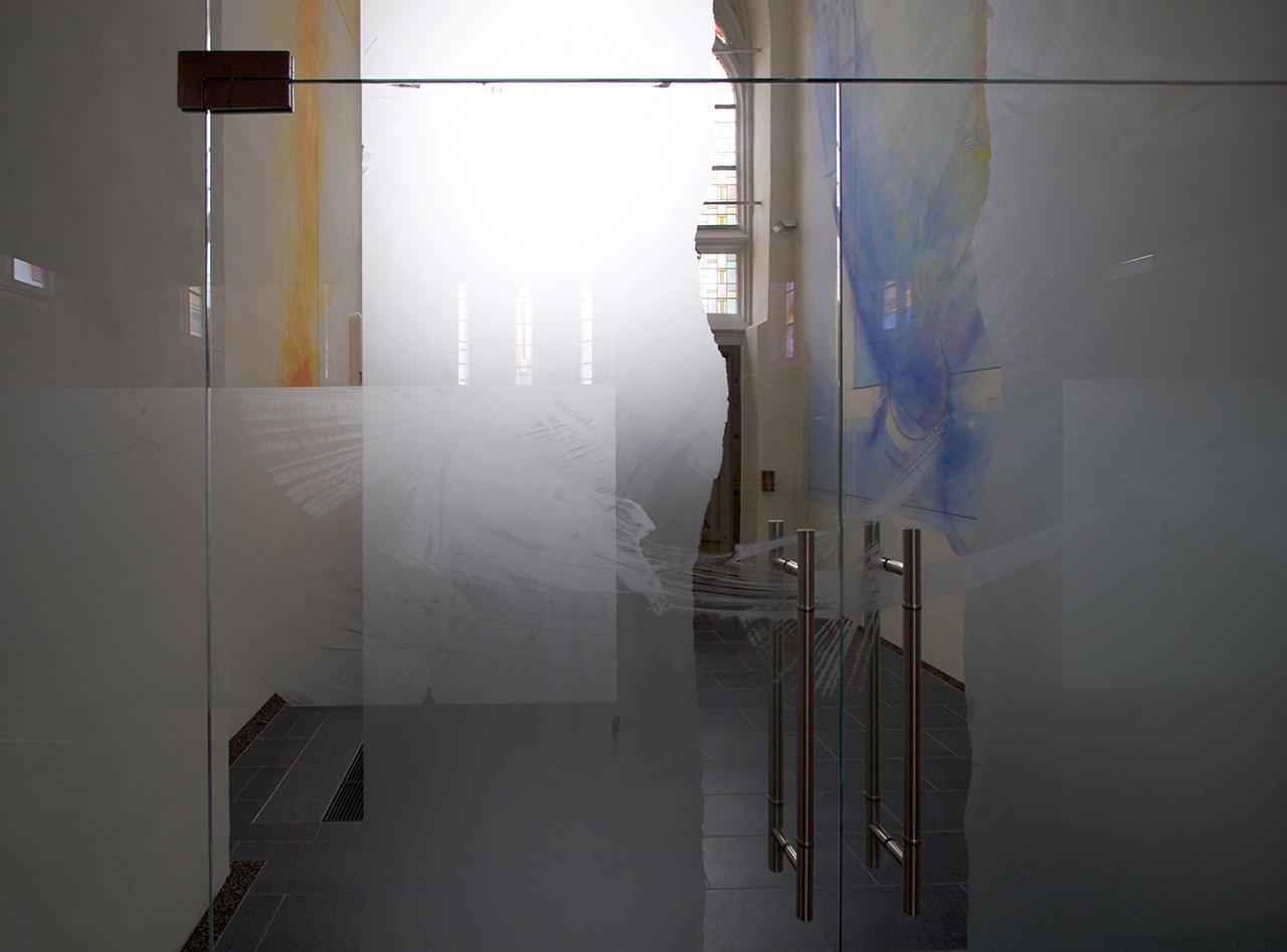 St. Martin Rhaunen, Gestaltung Windfang