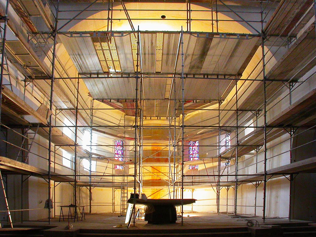 St.Martin Piesport, Altarraumgestaltung 2004