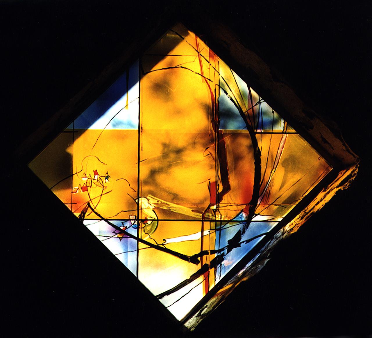 1998 Kapelle Betzdorf, Franziskusfenster
