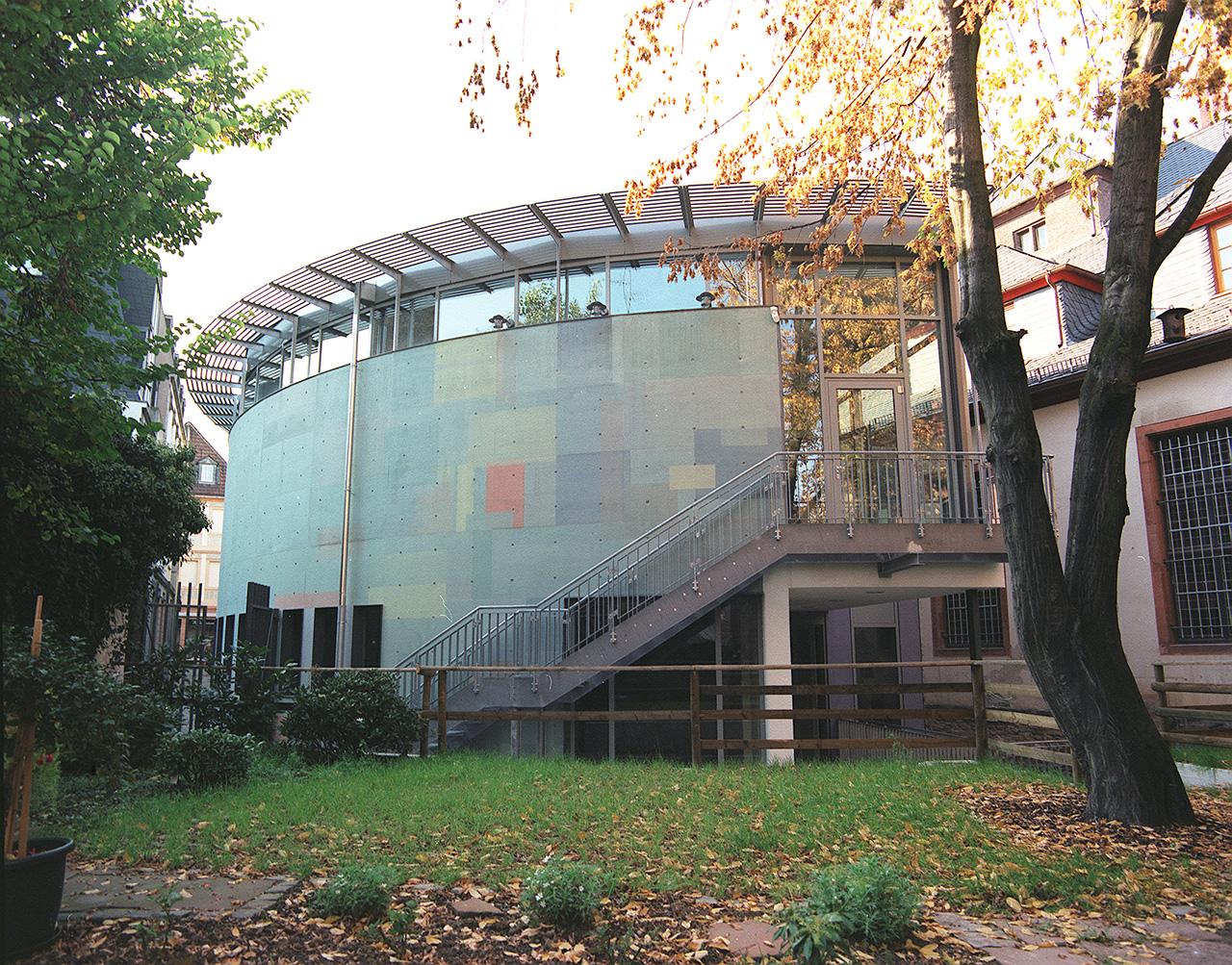 Domchor Mainz Farbgestaltung E. Münch, Architektur PAS MZ