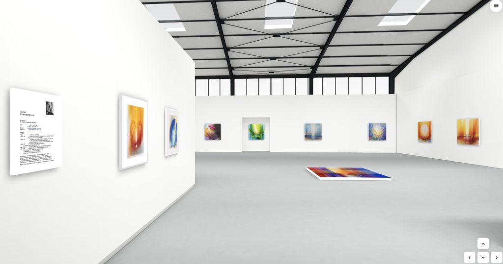 Virtuelle Galerie 1 Veriditas Lichtspuren